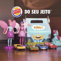 BURGER KING® TRAZ DE VOLTA BARBIE E HOT WHEELS PARA O KING JR.