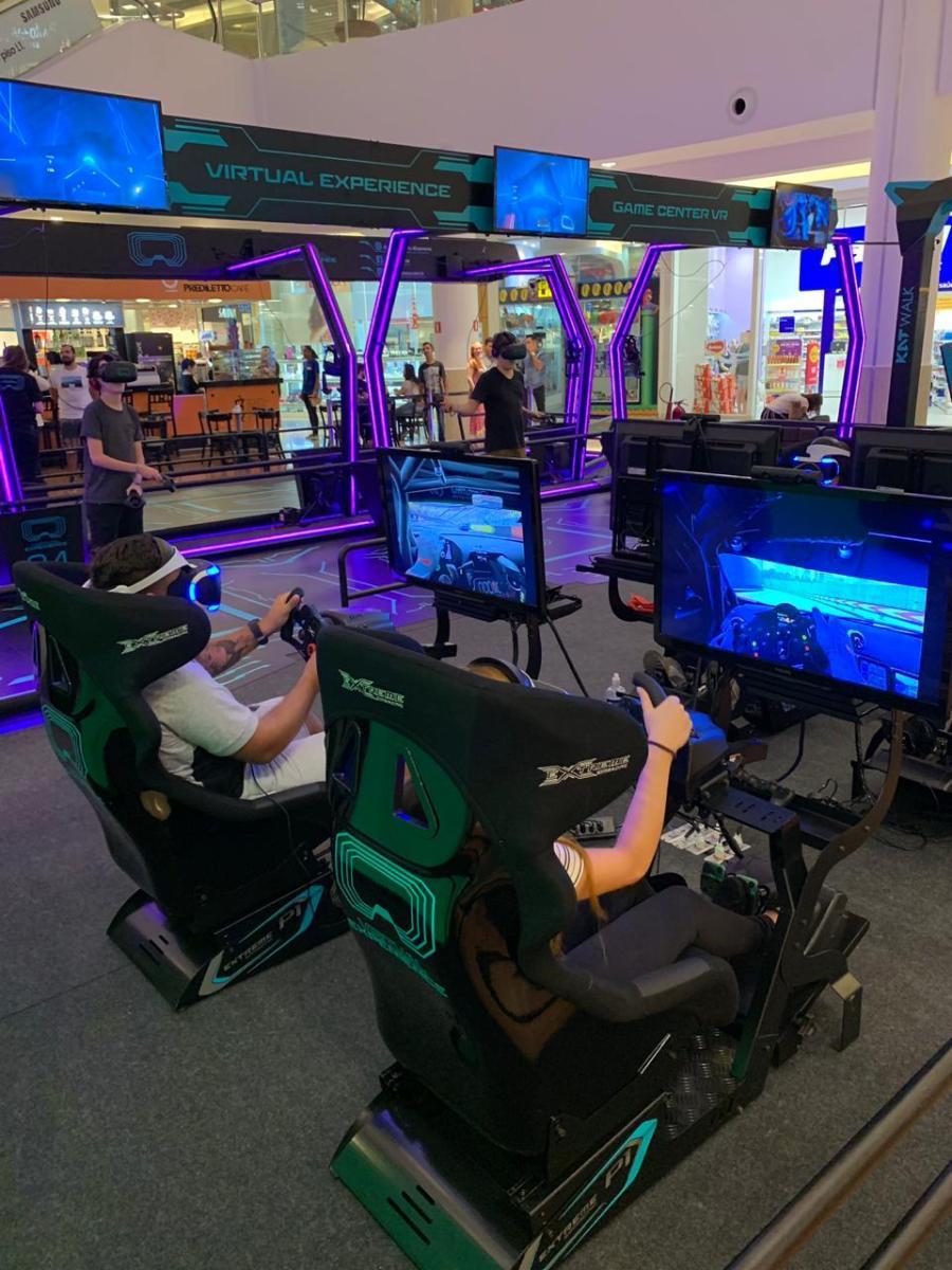 Shopping Palladium recebe o primeiro game center de realidade virtual viajante da América Latina