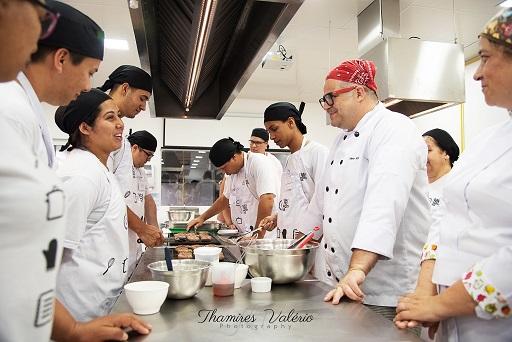 alunos Gastromotiva curso profissionalizante