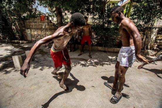 Viagem para o Haiti na cidade de Port Au Prince. Entrega das cartas de Jerson e Rose, 02/09/2016 Foto: Brunno Covello