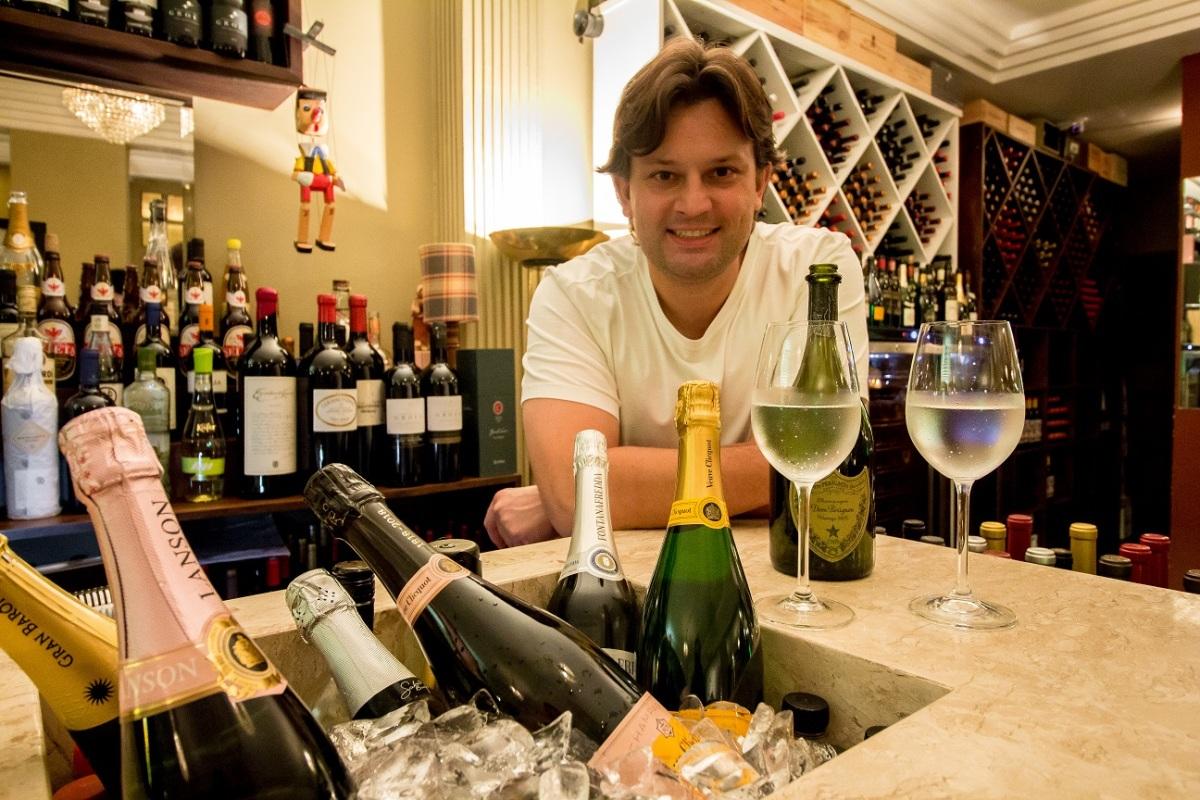 Casa dos vinhos: Ernesto Ristorante lança carta com mais de 300 rótulos