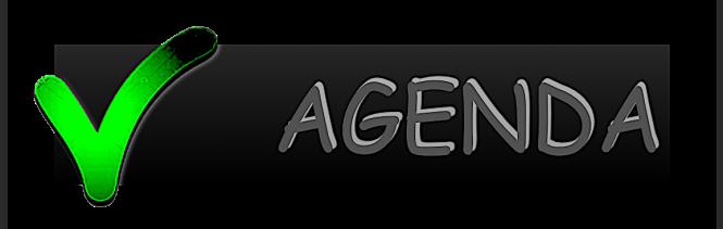 (BLOG) banner agenda