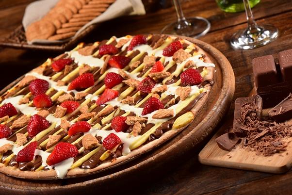 CheeseCake de Morango - reduzida