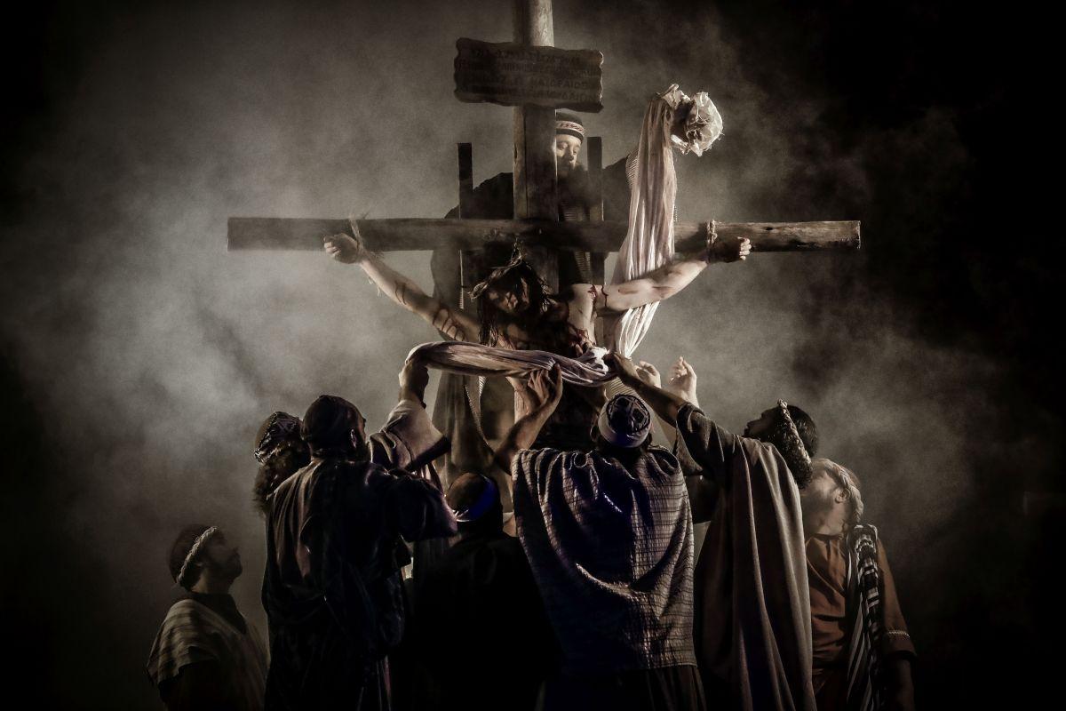 """""""Paixão de Cristo"""", do Grupo Lanteri, será apresentada dia 19 de abril, em Araucária"""