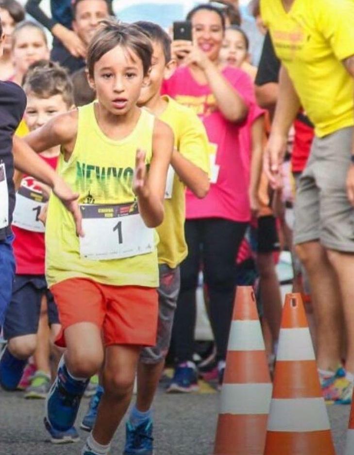 Maratoninhas - corredor mirim