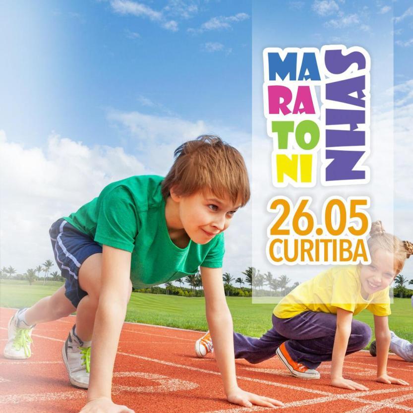 Maratoninhas - flyer