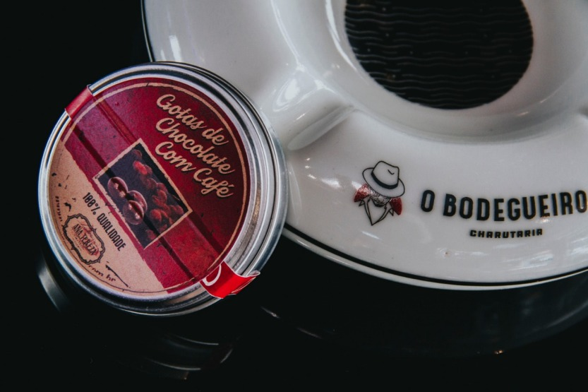Sementes de chocolate de O Bodegueiro