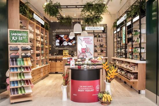 6c84061f8 The Body Shop® inaugura primeira loja conceito no Shopping Mueller