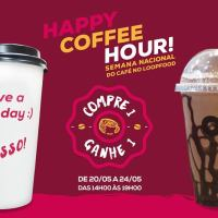 Café em dobro por uma semana no Loop Food