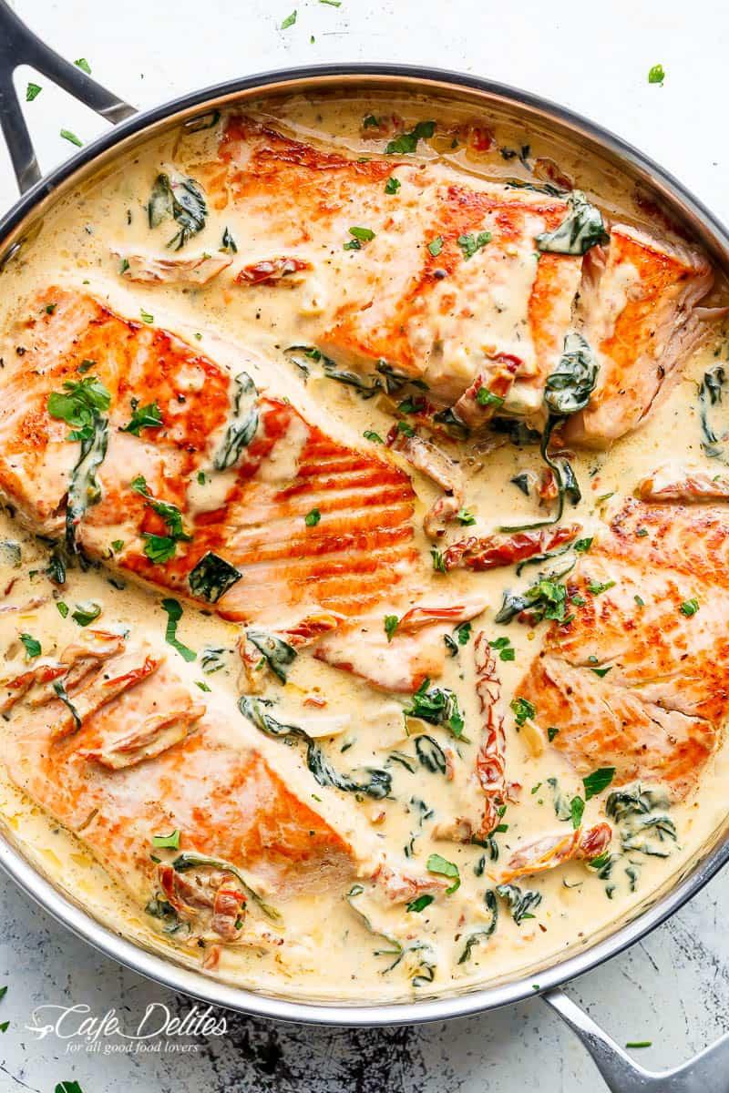 Salmon Capri