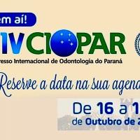 XIV CIOPAR-Congresso Internacional de Odontologia do Paraná 2019