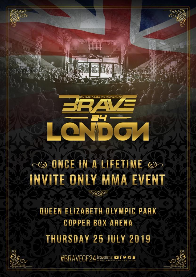 Brave London Event Announcement Confirmed