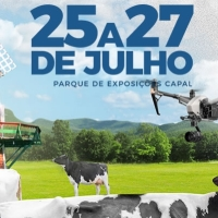 Tradicional feira de pecuária de leite acontece na próxima semana nos Campos Gerais