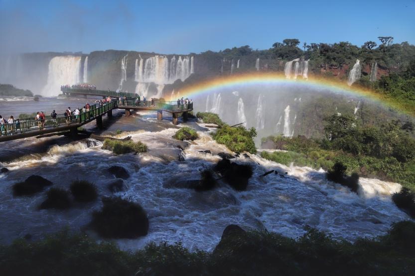 04/2019 - Foz do Iguaçu - Cataratas Foto: José Fernando Ogura/ANPr