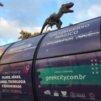 """Em contagem regressiva para o Geek City, dragões e vikings """"invadem"""" Curitiba para o maior evento de cultura pop do Sul do país"""