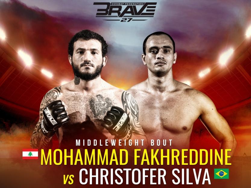 Brave 27_Fakhreddine vs Silva_1x1