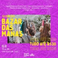 13ª edição do Bazar das Manas acontece neste final de semana