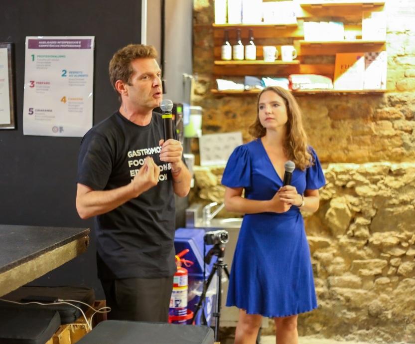 David Hertz e Marie Tarrisse