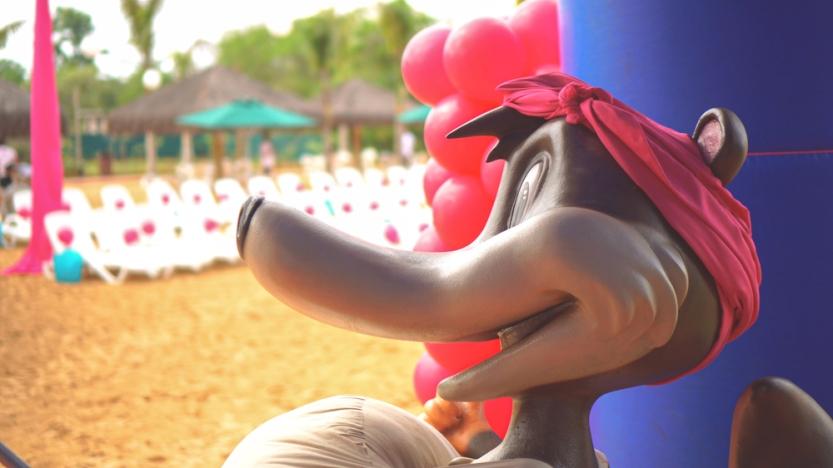foto personagem pink park
