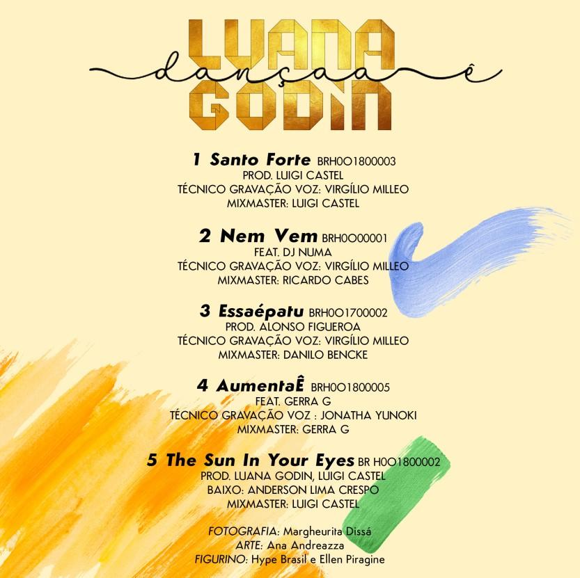 Luana Godin Contra Capa