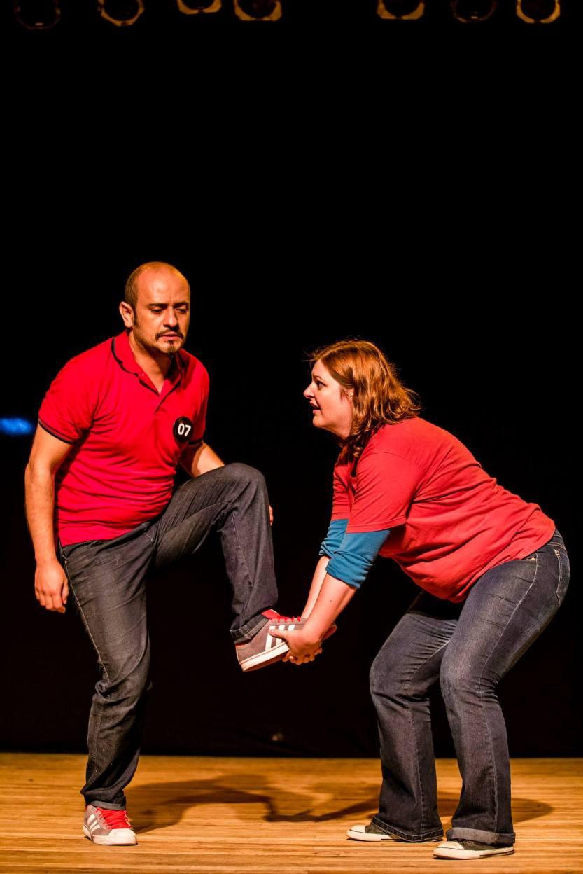 Resta 1 - Foto de Jorge Mariano - Gustavo Miranda e Anne Celli