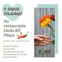 Abrasel - PR promove #SaborSolidário em prol de restaurante que pegou fogo em Curitiba