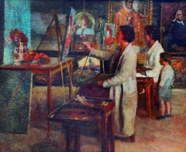 Atelier_Acervo Museu Casa Alfredo Andersen
