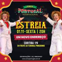 Feriadão prolongado tem espetáculo circense em Curitiba