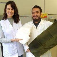 Pesquisadores da UFPR desenvolvem embalagem biodegradável como alternativa para uso de sacolas plásticas