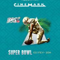 Cinemark exibirá ao vivo a 54º edição do Super Bowl