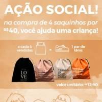 Marca curitibana cria campanha para comprar sapatos para crianças carentes