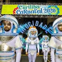 Carnaval Curitiba 2020... Vila Nossa Senhora da Luz dos Pinhais na avenida...