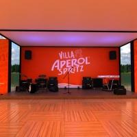 Villa Aperol Spritz vai pintar Jurerê Internacional de laranja durante o Carnaval