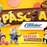 Condor antecipa Páscoa e projeta crescimento de 10% nas vendas do período