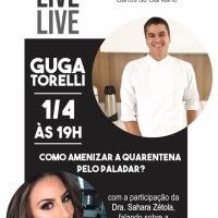 Quarta é dia de saúde bucal com a Florense Carlos de Carvalho e o chef Guga Torelli no projeto especial para as redes sociais