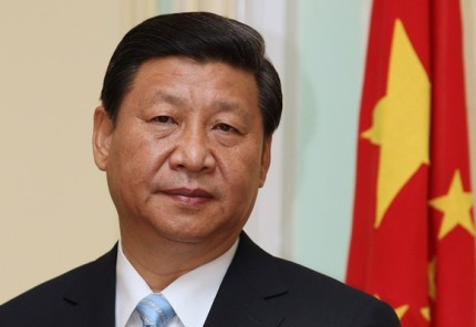 Xi Jinping, China's president, attends a joint news conference with Malaysian Prime Minister Najib Razak, unseen, at the Prime Minister's Office in Putrajaya, Malaysia, on Friday, Oct. 4, 2013. Xi signed agreements today to boost economic cooperation and defense ties with Malaysia as U.S. President Barack Obama scrapped his tour of the region. Photographer: Goh Seng Chong/Bloomberg *** Local Caption *** Xi Jinping