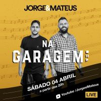 Jorge & Mateus fazem live sábado no YouTube