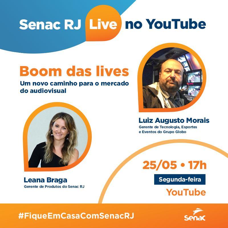 Boom das lives - Senac RJ
