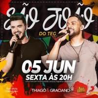 Thiago e Graciano fazem 'São João do TeG' ao vivo no Youtube Live da dupla acontece dia 05 de junho, as 20h