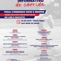 Hospital Cardiológico Costantini realiza evento gratuito e on-line sobre Corrida de Rua