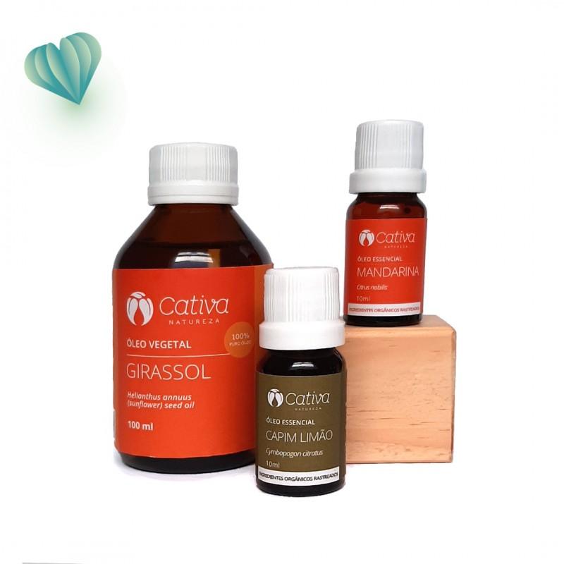 Dia dos Namorados - Kit aromaterapia lovers