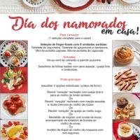 O Dia dos Namorados está chegando! Encomende seu kit jantar!