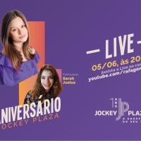 Jockey Plaza Shopping completa um ano com live solidária