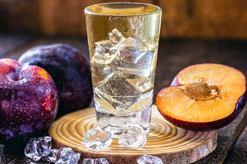 Umeshu is a traditional Japanese plum drink (ume) Umeshu is a Japanese plum liqueur very associated with summer as it is refreshing.