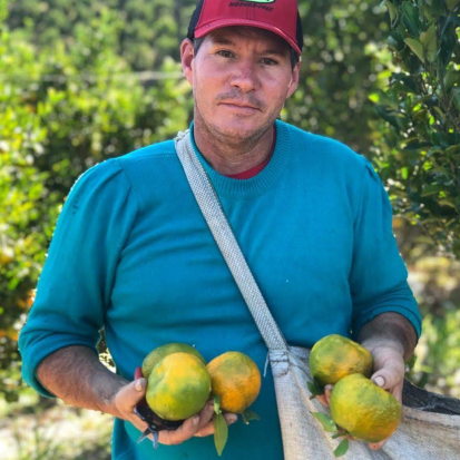 Cativa Natureza - produtor - tangerina verde