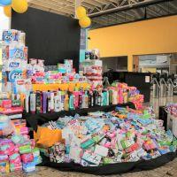 Alunos de Curitiba arrecadam produtos de higiene para mulheres em situação de risco