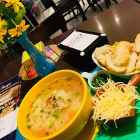 La Basque Curitiba - tem sopa? tem sim senhor!
