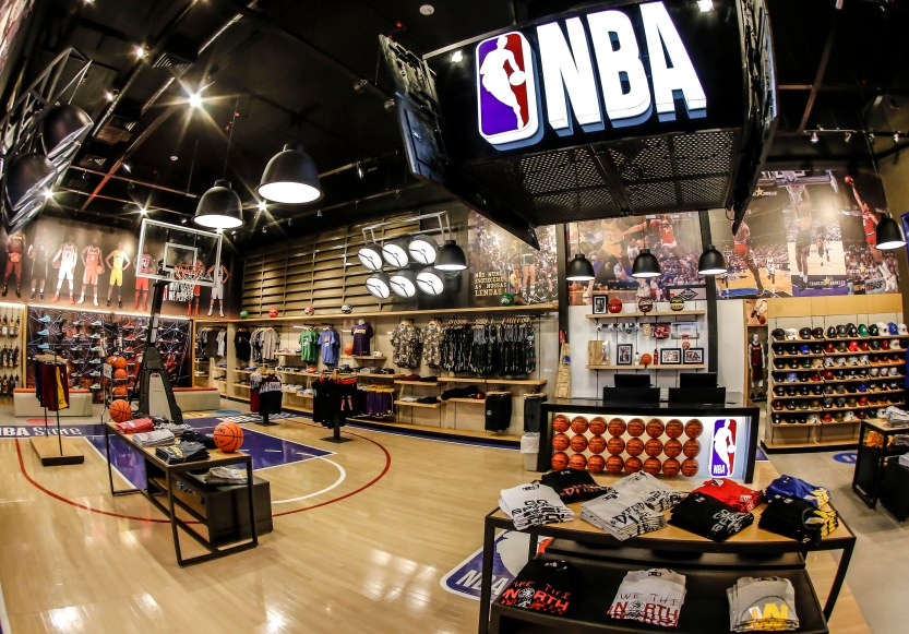 NBA Store 01 - MPC Divulgação