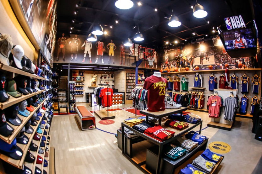 NBA Store 02 - MPC Divulgação