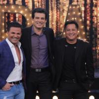 """Eduardo Costa e Leonardo apresentam o especial """"Cabaré"""" no """"Sabadão com Celso Portiolli"""""""